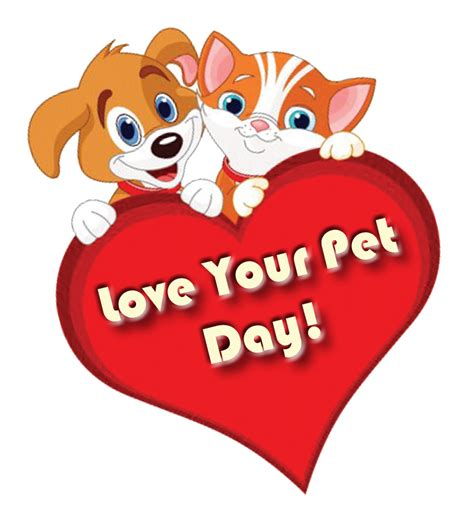 National love your pet day 2018